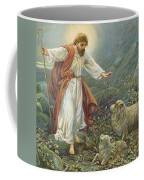 Jesus Christ The Tender Shepherd Coffee Mug