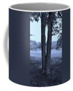 Jesus Christ Tree Cyan Coffee Mug