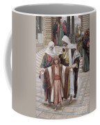Jesus Found In The Temple Coffee Mug by Tissot