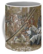 Jesus Meets His Mother Coffee Mug