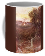 Jesus On The Mount Of Olives Coffee Mug by William Brassey Hole