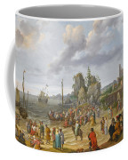 Jesus Preaching On The Shores Of The Sea Of Galilee Coffee Mug