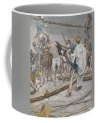 Jesus Stripped Of His Clothing Coffee Mug