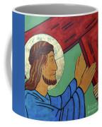 Jesus Takes Up His Cross Coffee Mug