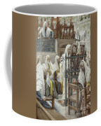 Jesus Unrolls The Book In The Synagogue Coffee Mug