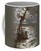 Jesus Walking Upon The Sea Coffee Mug