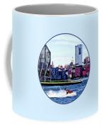 Jet Skiing By Colgate Clock Coffee Mug