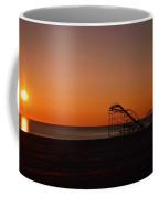 Jet Star Rollercoaster Sunrise Coffee Mug