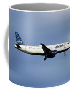 Jetblue Airways Airbus A320-232 Coffee Mug