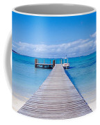 Jetty On The Beach, Mauritius Coffee Mug