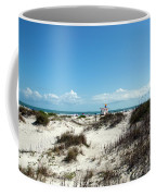 Jetty Park On Cape Canaveral In Florida Coffee Mug