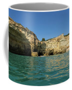 Jewel Toned Ocean Art - Gliding By Sea Caves And Secluded Beaches Coffee Mug