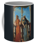 Jewish Women At The Balcony In Algiers Coffee Mug by Theodore Chasseriau