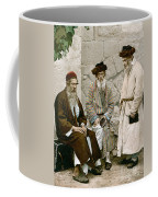 Jews In Jerusalem, C1900 Coffee Mug