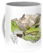 High Pastures,   Col De La Cayolle Coffee Mug
