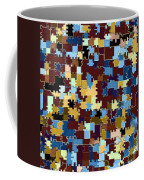 Jigsaw Abstract Coffee Mug