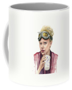 Jillian Holtzmann Ghostbusters Portrait Coffee Mug