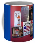 Jim Beam Signs On Display Coffee Mug