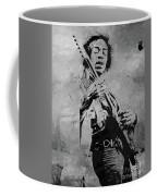 Jimi Hendrix Pop Star  Coffee Mug