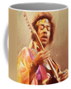 Jimi Jamming Coffee Mug