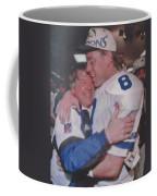 Jimmy Johnson Troy Aikman Coffee Mug