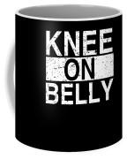 Jiu Jitsu Bjj Knee On Belly Light Coffee Mug