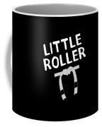 Jiu Jitsu Bjj Little Roller White Light Coffee Mug