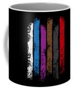 Jiu Jitsu Design United Belts Of Jiu Jitsu Vertical Light Martial Arts Coffee Mug
