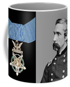 J.l. Chamberlain And The Medal Of Honor Coffee Mug by War Is Hell Store