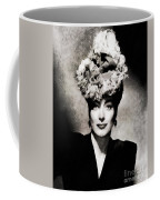 Joan Crawford, Hollywood Legend By John Springfield Coffee Mug