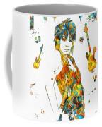 Joan Jett Colorful Paint Splatter Coffee Mug