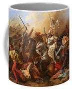 Joan Of Arc In The Battle Coffee Mug