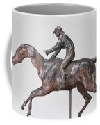 Jockey With Cap Coffee Mug