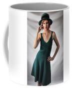 Johanne In Green Coffee Mug