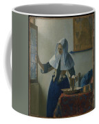 Johannes Vermeer Young_woman Coffee Mug