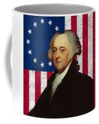 John Adams And The American Flag Coffee Mug