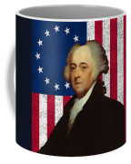 John Adams And The American Flag Coffee Mug by War Is Hell Store