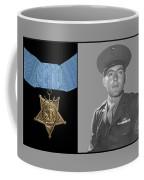 John Basilone And The Medal Of Honor Coffee Mug