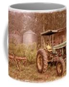 John Deere Antique Coffee Mug by Debra and Dave Vanderlaan