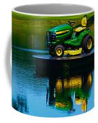 John Deere Mows The Water No 2 Coffee Mug