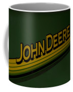 John Deere Signage Decal Coffee Mug