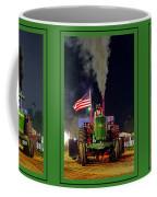 John Deere Tractor Pull Poster Coffee Mug
