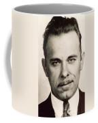 John Dillinger Mug Shot Sepia Coffee Mug