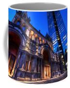 John Hancock Tower Trinity Church Boston Ma Coffee Mug