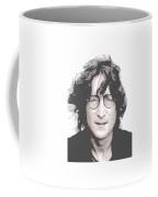 John Lennon - Parallel Hatching Coffee Mug