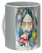 John Lennon - Watercolor Portrait.9 Coffee Mug