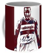 John Wall Washington Wizards Pixel Art 5 Coffee Mug
