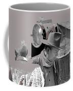 John Wayne And Director Howard Hawks  Alienated Rio Lobo Old Tucson Arizona 1970-2016 Coffee Mug