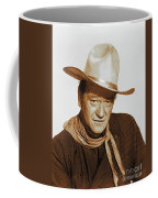 John Wayne, Hollywood Legend Coffee Mug