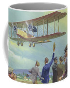 John William Alcock And Arthur Whitten Brown Who Flew Across The Atlantic Coffee Mug